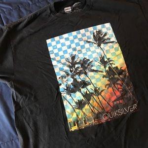 Men's black Quicksilver shirt
